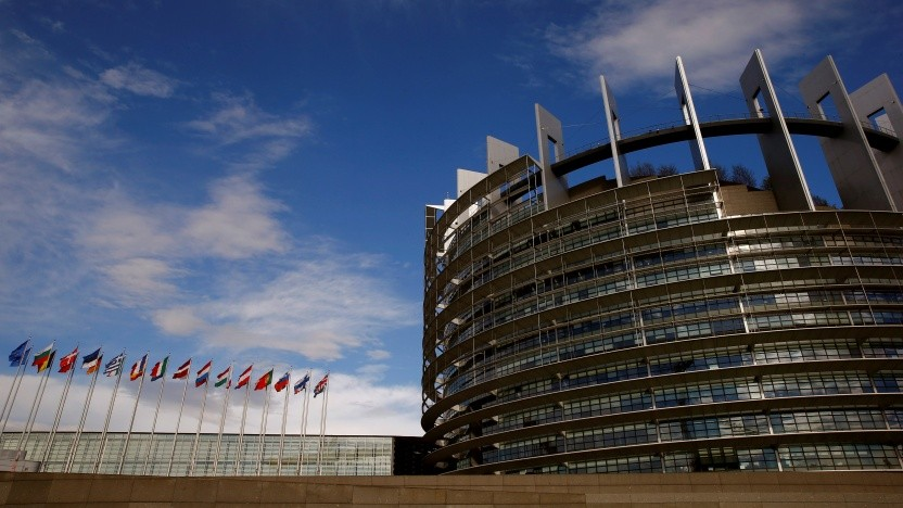 In das Europaparlament in Straßburg sollen nur noch registrierte Lobbyisten hinein.