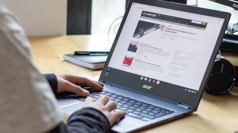 Das Chromebook Spin 13 von Acer