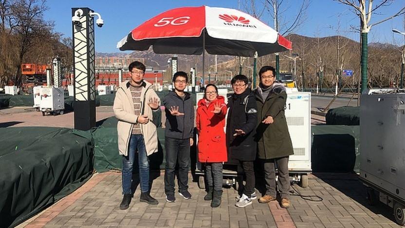 Huawei 5G R&D Test bei 2.6 GHz