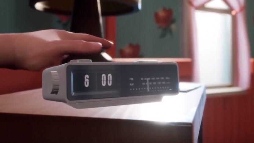 Der Radiowecker mit den Klappzahlen ist auch wieder dabei.