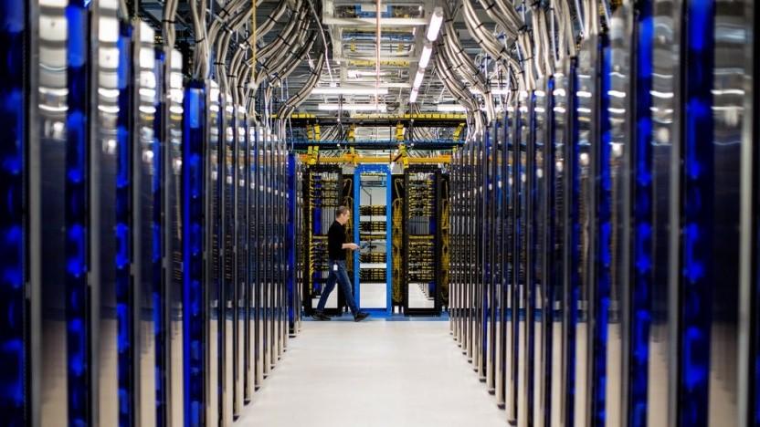 Rechenzentrum von Microsoft