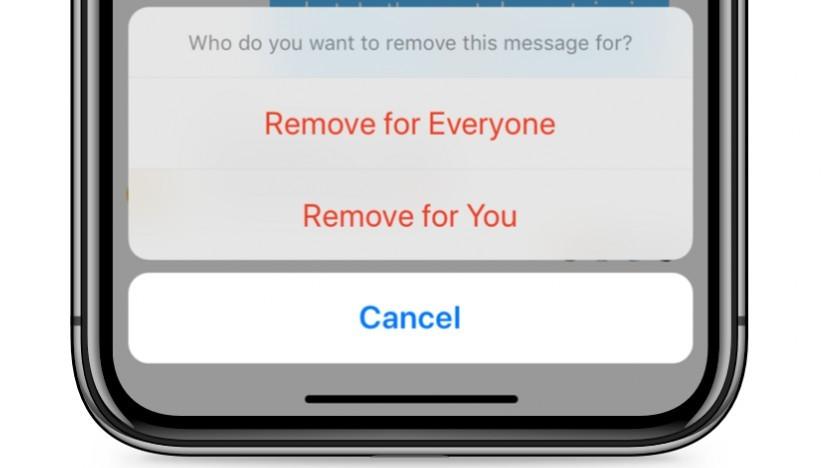 Die neue Löschfunktion des Facebook Messengers