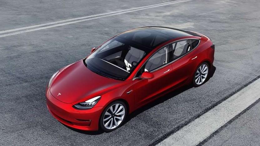 Tesla bringt weitere Variante des Model 3