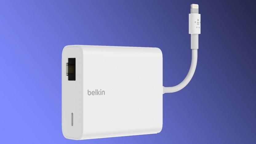 Ein iPad kann per Lightning oder RJ45 mit Strom versorgt werden.