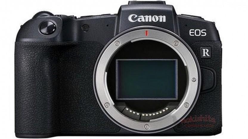 Canon EOS RP (noch mit R-Beschriftung)
