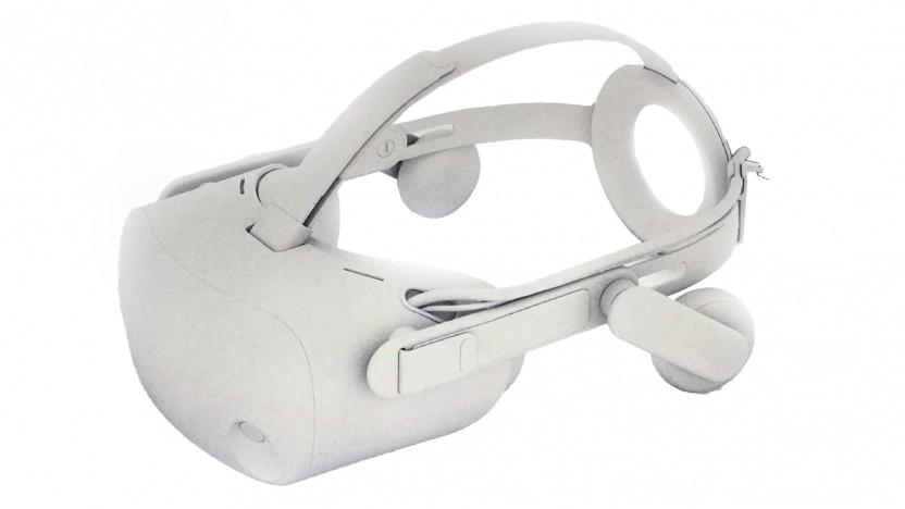Das Copper genannte VR-Headset als Rendering