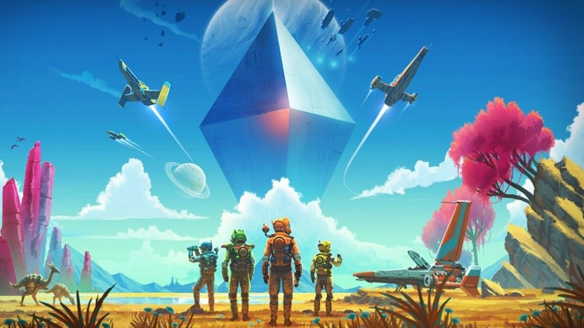 Artwork von No Man's Sky