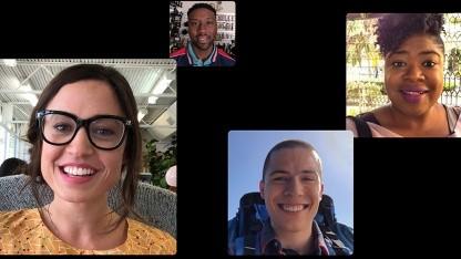 Gruppen-Funktion in Facetime