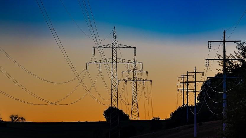 Stromleitungen sind anfällig für wuchernde Wälder.