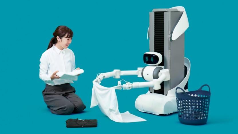 Haushaltsroboter Ugo: darauf programmiert, die Privatsphäre zu bewahren