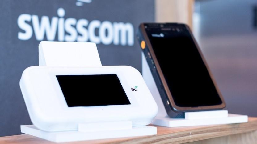 5G-Prototyp von Qualcomm und Swisscom