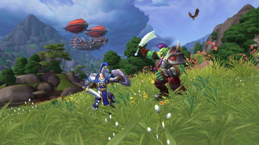 Szene aus Tides Of Vengeance für World of Warcraft