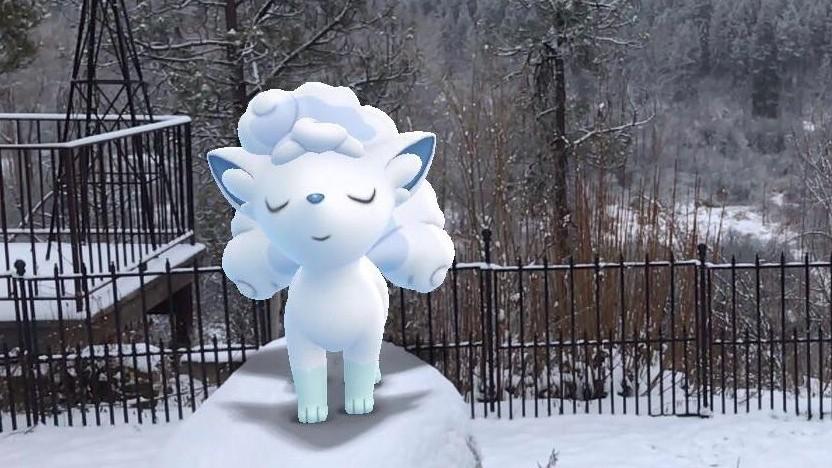 Artwork von Go Snapshot in Pokémon Go