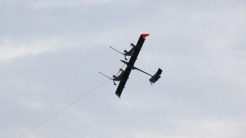 Die fliegende Windturbine soll in Norwegen getestet werden.