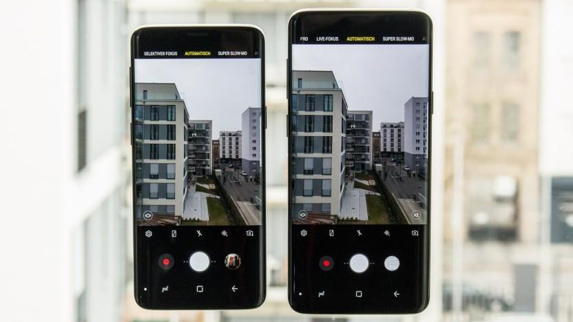 Gesucht: die Nachfolger des Galaxy S9 und Galaxy S9+.