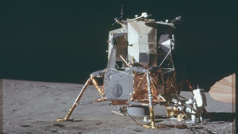 Nachfolger gesucht: die Mondlandefähre von Apollo 12