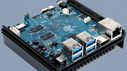 Odroid N2: Bastelrechner kommt mit Sechskern-CPU und 4 GByte RAM