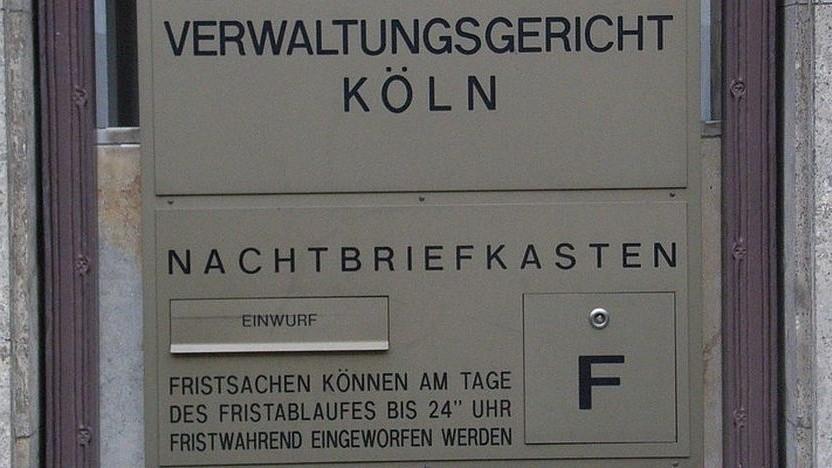 Verwaltungsgericht Köln: in der Post