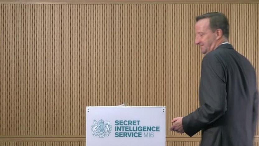 Alex Younger, Chef des britischen Geheimdienstes MI6