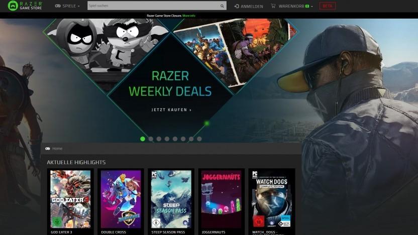 Artwork des Razer Game Store