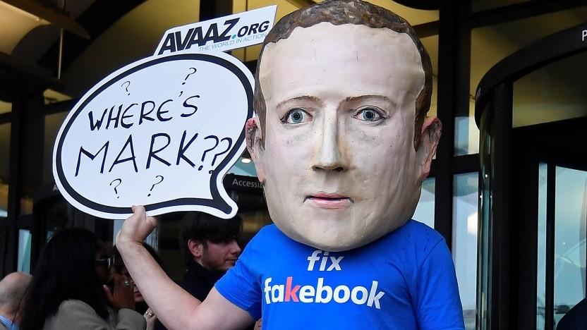 Facebook-Chef Mark Zuckerberg wollte nicht vor dem britischen Parlament erscheinen.