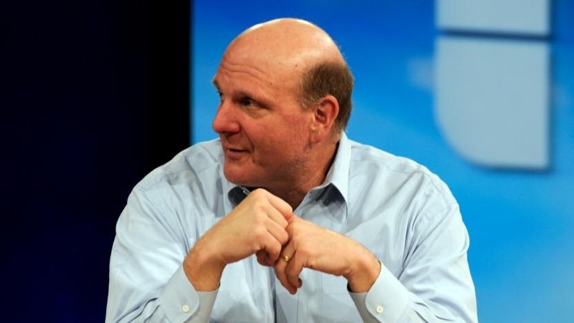 Steve Ballmer war 2008 noch Microsoft-CEO.