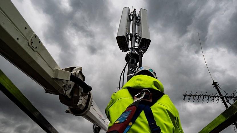 Netzausbau bei der Telekom