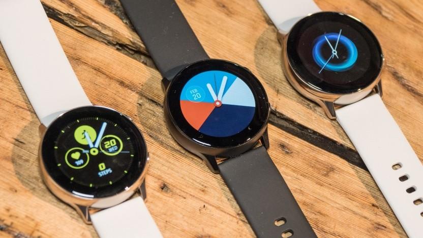 Die neue Galaxy Watch Active von Samsung