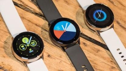 Die erste Galaxy Watch Active hat nur einen herkömmlichen Pulsmesser.