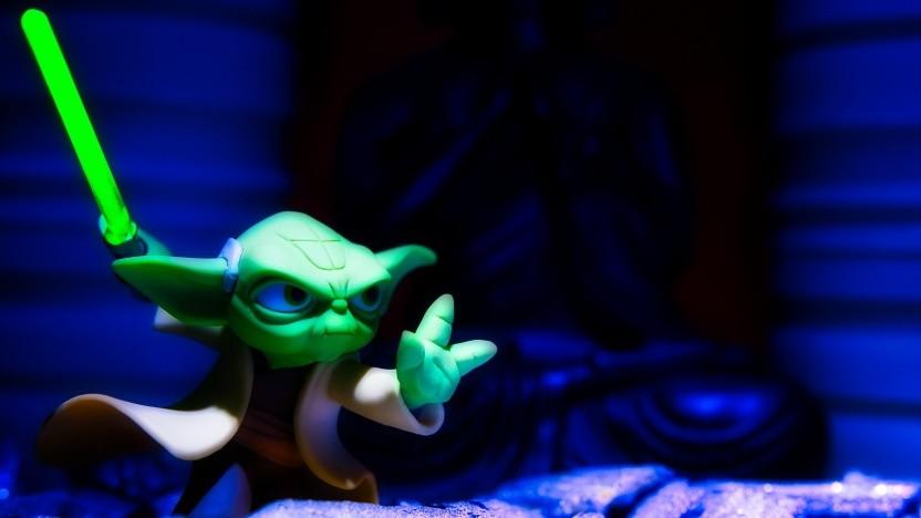 So gut wie Yoda wird wohl keiner der Duellanten sein.