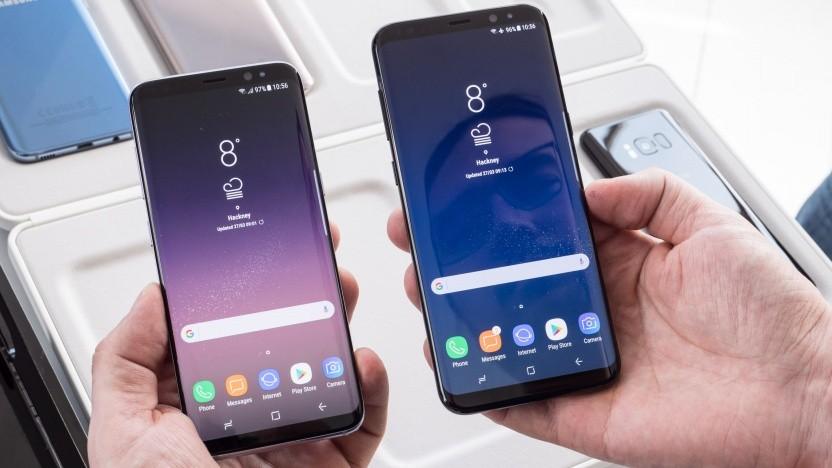 Galaxy S8 und Galaxy S8+ erhalten Android 9.0.