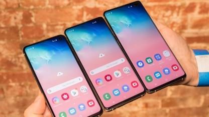 Galaxy S10 im Hands on: Samsung bringt vier neue Galaxy-S10-Modelle