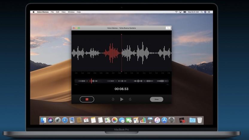 Sprachmemo-App von iOS auf MacOS
