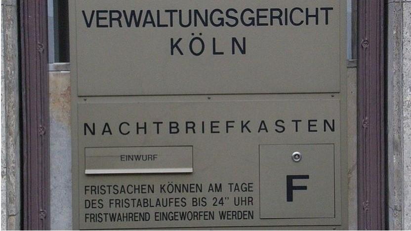 Und wieder Post für das Verwaltungsgericht Köln