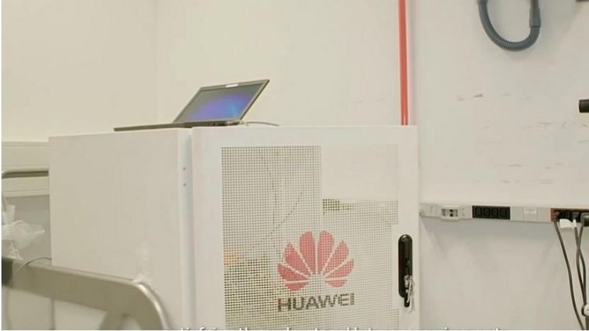 Huawei und Telekom zeigen 5G Network Slicing.