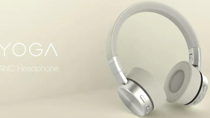 Die Yoga-Headphones unterscheiden sich nur optisch von der Thinkpad-Version.
