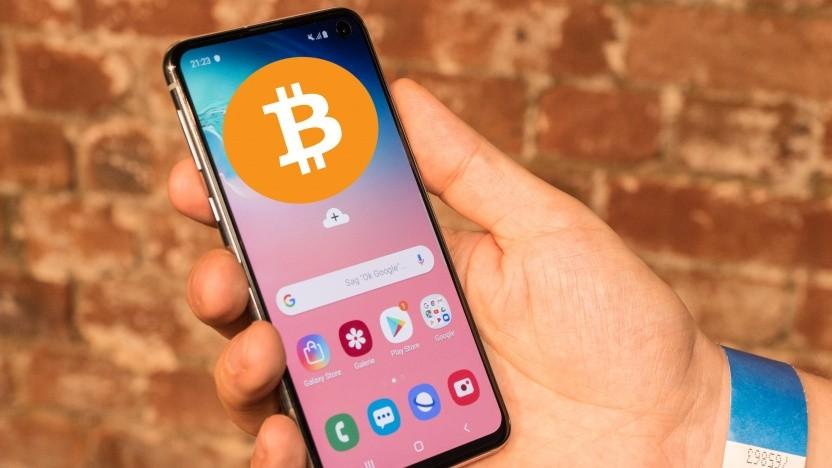 Das Samsung Galaxy S10 kann als Bitcoin-Wallet genutzt werden.