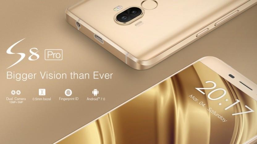 Günstig und unsicher: Das Smartphone S8 Pro von Ulefone.