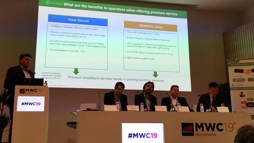 Bei dem Panel auf dem MWC 2019