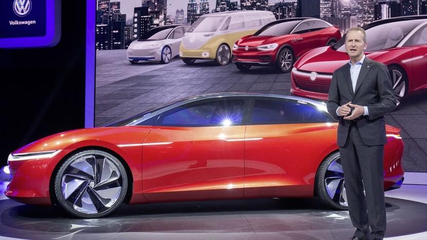 VW-Vorstandsvorsitzender Herbert Diess