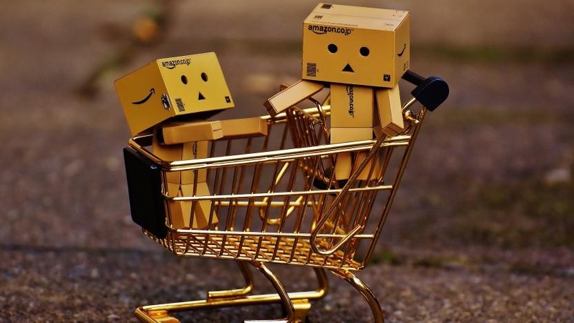 Machine Learning von AWS empfiehlt den Einkauf.