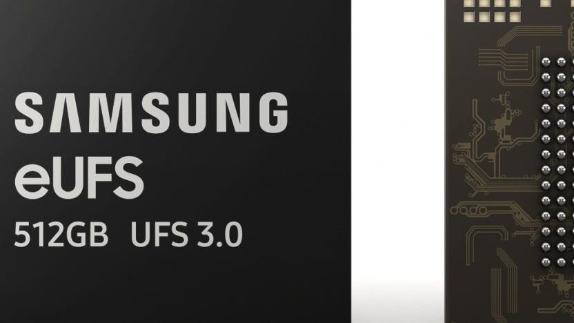 Samsungs Universal-Flash-Storage-Chips werden schneller.