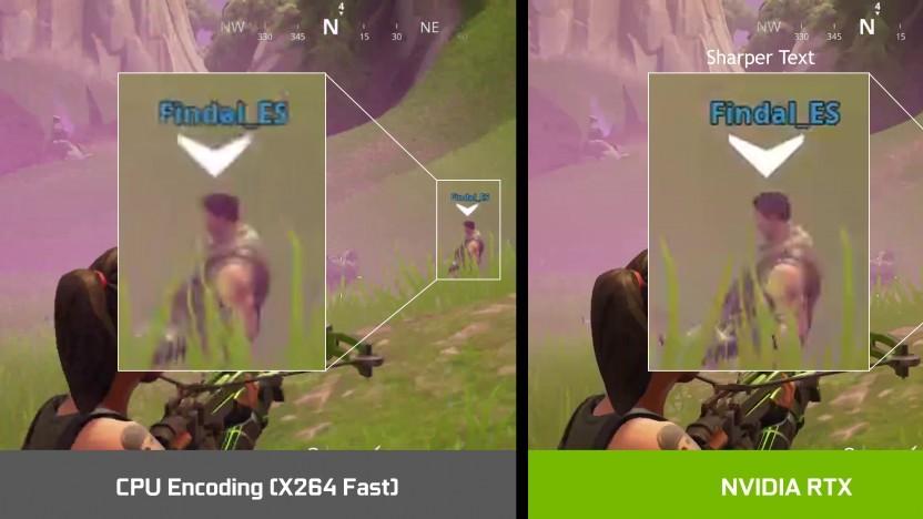 Der NVENC der Geforce RTX soll besser sein als x264-Fast.