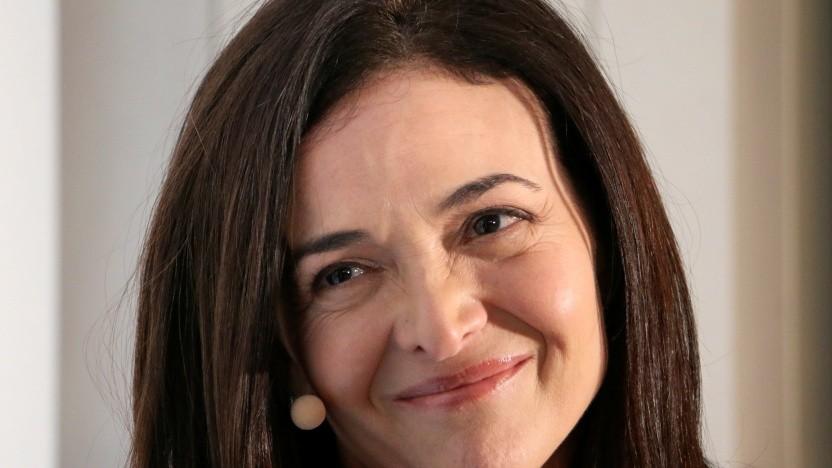 Facebook-COO Sheryl Sandberg im Januar 2019 in Davos