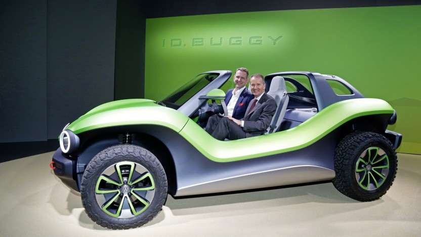 elektroauto vw zeigt kultwagen buggy mit heckmotor. Black Bedroom Furniture Sets. Home Design Ideas