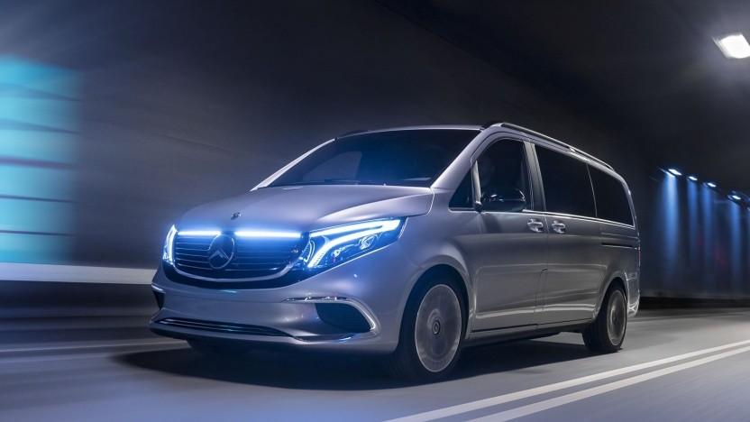 Mercedes EQV: Die Serienversion soll auf der IAA im Spätsommer gezeigt werden.