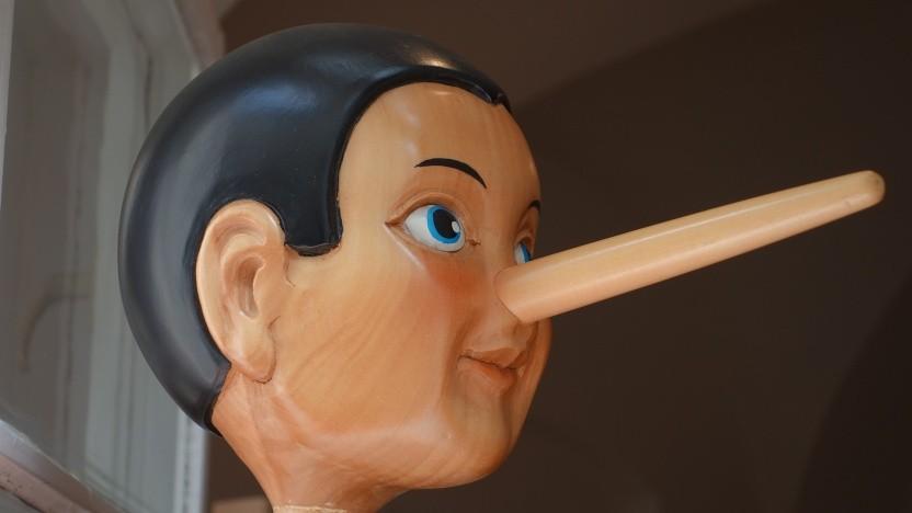 Wenn doch alle Lügen so einfach zu erkennen wären ...