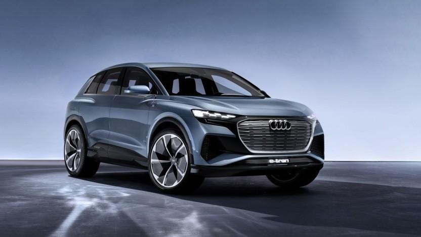 Audi Q4 E-Tron Concept: zwölf Elektroautos bis 2025
