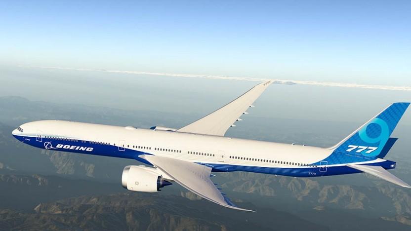 Bald fliegt sie: die B777X-9.