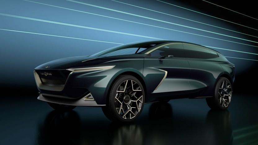 Aston Martin Lagonda All-Terrain Concept: Die Briten planen für 2022 ein selbstfahrendes Elektroauto